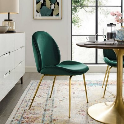 Current Erasmus Velvet Side Chairs (set Of 2) For Jaynes Upholstered Velvet Side Chair Upholstery Color: Green (View 21 of 30)