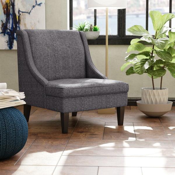 Current Janiyah Slipper Chair Throughout Aniruddha Slipper Chairs (View 6 of 30)