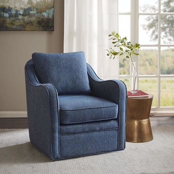Current Loftus Swivel Armchairs With Regard To Three Posts Loftus Swivel Armchair & Reviews (View 4 of 30)