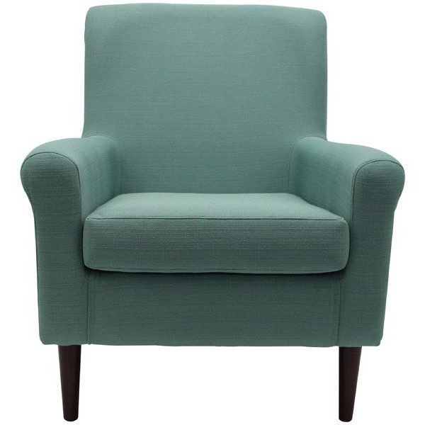 """Current Ronald 28"""" W Polyester Blend Armchair (View 9 of 30)"""