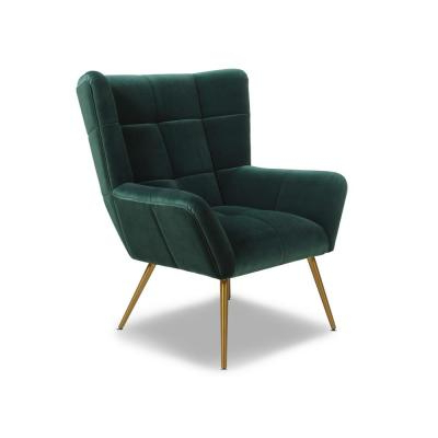 Dallin Arm Chairs In Well Liked Forest Green/velvet – Accent Chairs – Chairs – The Home Depot (View 27 of 30)