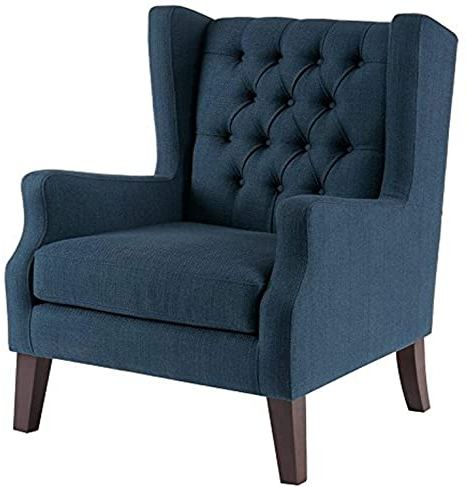 Dallin Arm Chairs With Most Recently Released Amazon: Madison Park Maxwell Accent Chairs Hardwood (View 10 of 30)