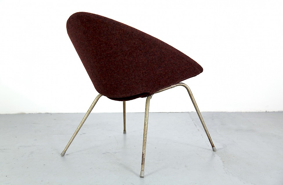 Danish Modern Easy Chair With Metal Legs – Adore Modern With Regard To Favorite Lounge Chairs With Metal Leg (View 25 of 30)