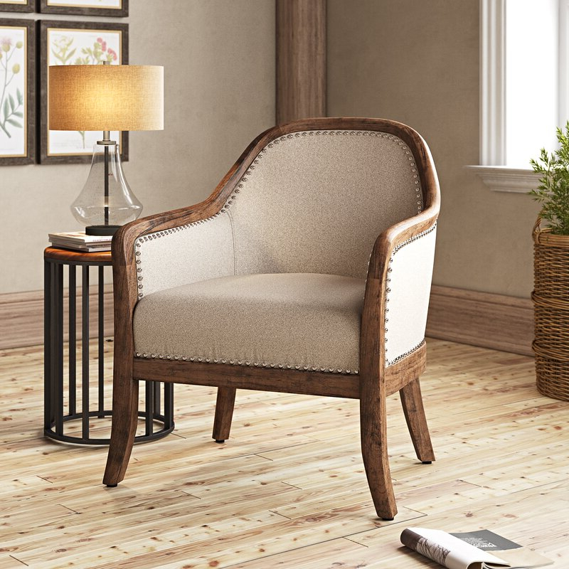 Danow Polyester Barrel Chairs In Widely Used Vonda Barrel Chair (View 10 of 30)
