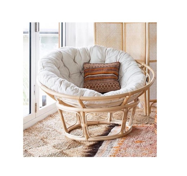 Decker Papasan Chairs Regarding Well Liked Rattan Mamasan Chair (View 24 of 30)