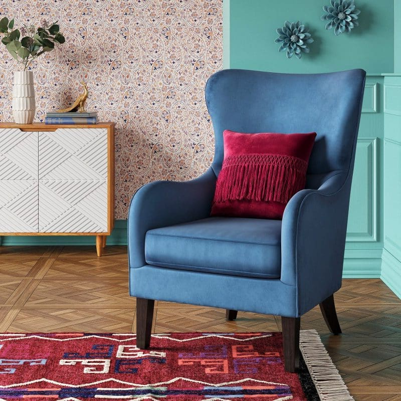 Décor Outline In Saige Wingback Chairs (View 15 of 30)