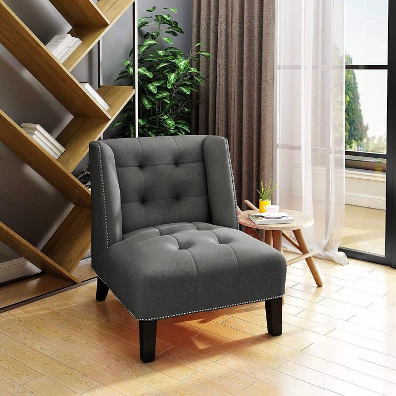 Décor Outline Regarding Saige Wingback Chairs (View 17 of 30)