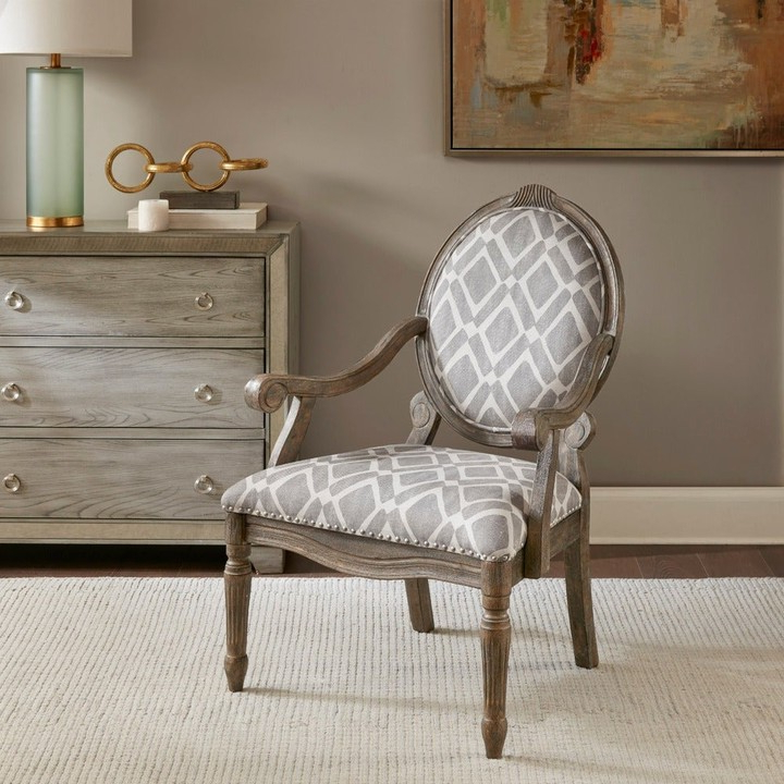Deer Trail Armchairs With 2020 Cole Exposed Wood Arm Chair (View 29 of 30)
