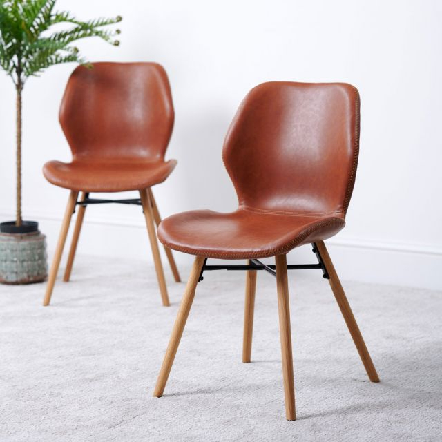 Dorcaster Barrel Chairs Pertaining To 2019 Durada Set Of 2 Dining Chairs – Tan (View 25 of 30)