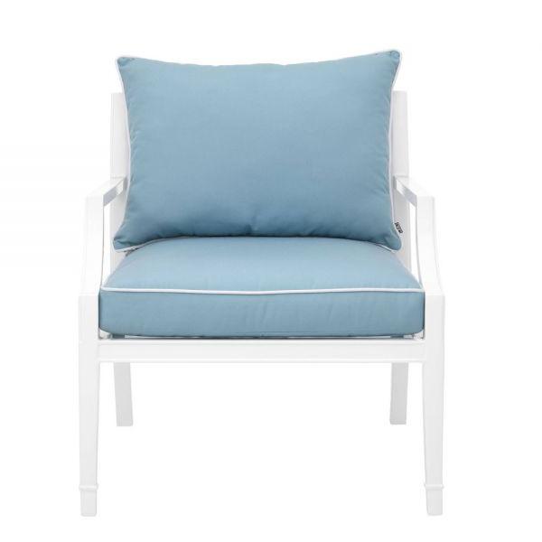 Eichholtz Chair Bella Vista White Finish In Preferred Hiltz Armchairs (View 27 of 30)