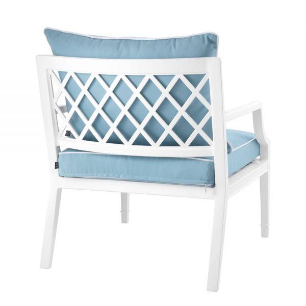 Eichholtz Chair Bella Vista White Finish Inside Current Hiltz Armchairs (View 29 of 30)