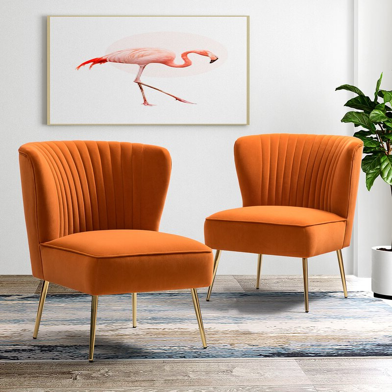 Erasmus Side Chair With Most Current Erasmus Velvet Side Chairs (set Of 2) (View 9 of 30)