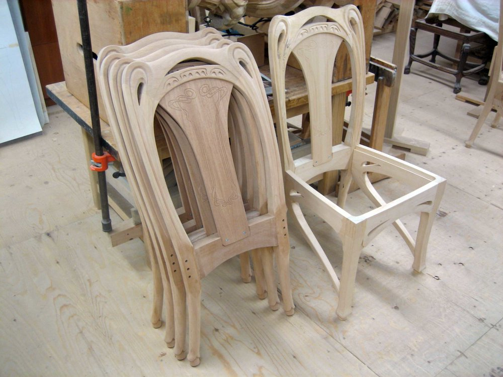 Erasmus Side Chairs In Current Mahogany Dining Chairs — Erasmus Hill Design (View 27 of 30)