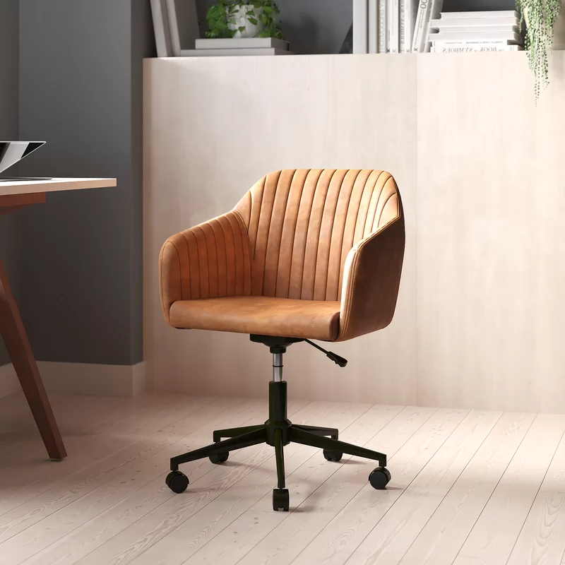Erasmus Velvet Side Chairs (set Of 2) In Most Popular Anella Task Chair (View 30 of 30)