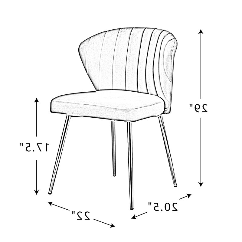 Esmund Side Chair For Best And Newest Esmund Side Chairs (set Of 2) (View 16 of 30)