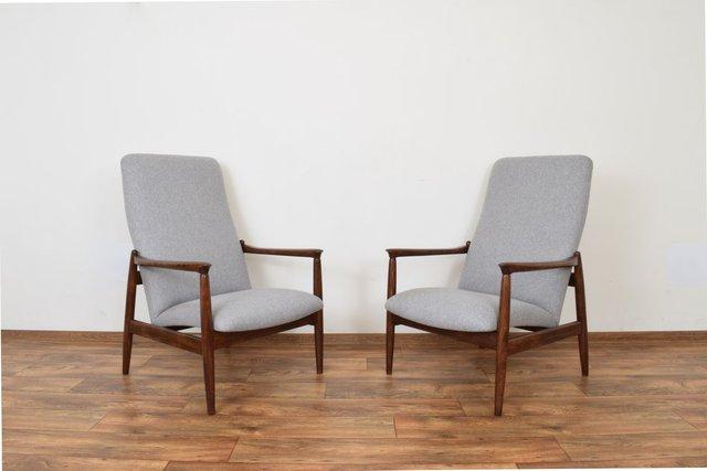Esmund Side Chairs (set Of 2) Inside Trendy Mid Century Polish Lounge Chairsedmund Homa For Gościcińskie Fabryki Mebli, 1960s, Set Of (View 12 of 30)