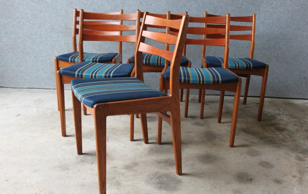Esmund Side Chairs (set Of 2) Intended For Fashionable Danish Teak And Oak Dining Chairsedmund Jã¸rgensen For Edmund Jã¸rgensen, 1960s, Set Of (View 21 of 30)