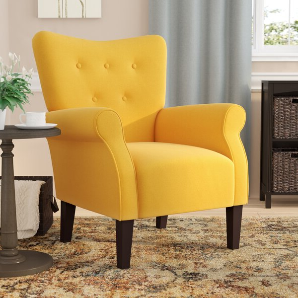 Extra Firm Accent Chair Pertaining To Popular Nadene Armchairs (View 8 of 30)