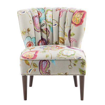 Fabric Accent Chair, Chair, Accent Regarding Waterton Wingback Chairs (View 8 of 30)
