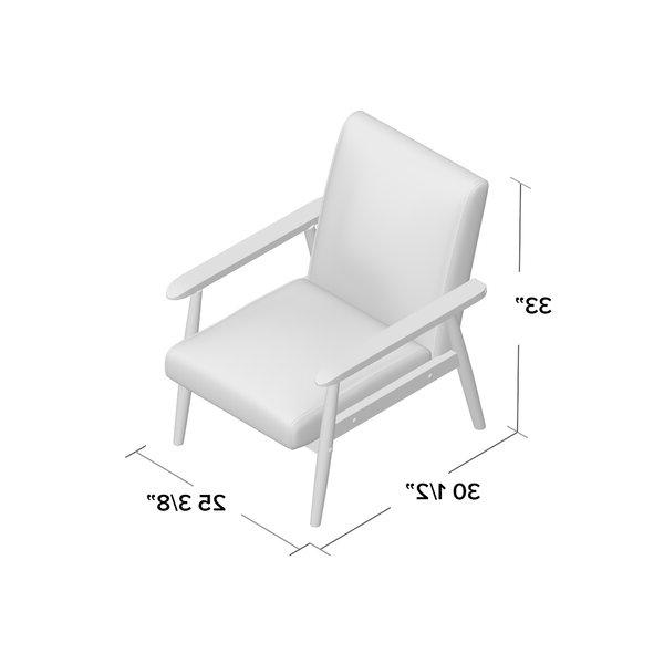 "Famous Beachwood 21"" Arm Chair Regarding Beachwood Arm Chairs (View 2 of 30)"