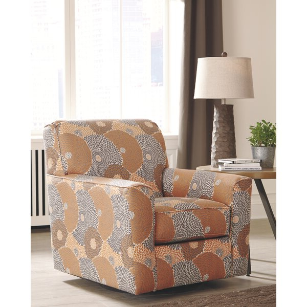 Famous Gilad Faux Leather Barrel Chairs Pertaining To Burnt Orange Accent Chair (View 17 of 30)