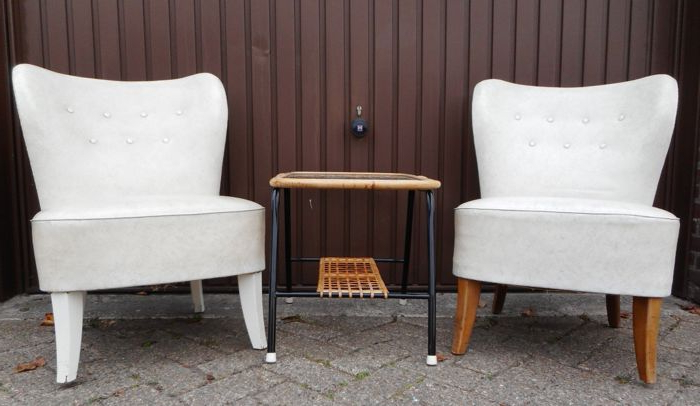 Famous Tijsseling Nijkerk – Armchair – Set Of 2 – Catawiki In Helder Armchairs (View 17 of 30)