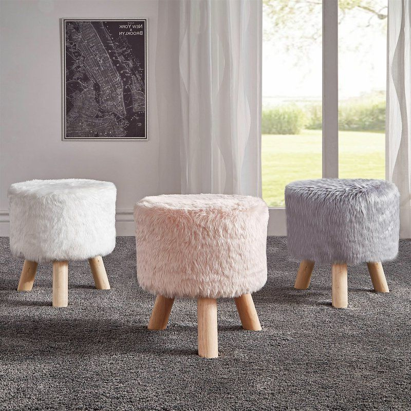 Fashionable Bucci Slipper Chairs Intended For Bucci Accent Stool In (View 19 of 30)