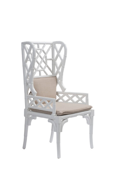Fashionable Chiles Linen Side Chairs Pertaining To Dining Chairs – Mecox Gardens (View 24 of 30)
