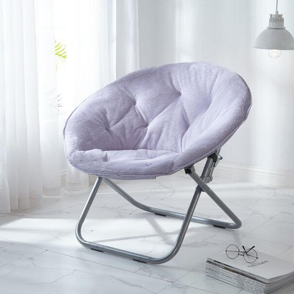 Fashionable Faux Fur Papasan Chair Pertaining To Rosati Mongolian Fur Papasan Chairs (View 4 of 30)