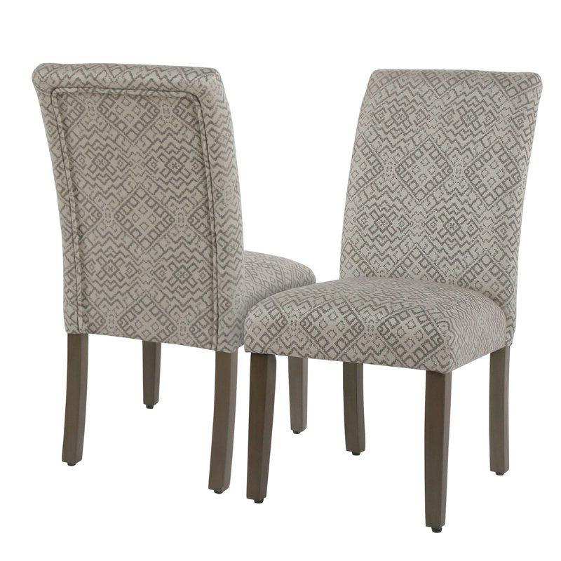 Fashionable Freetown Upholstered Dining Chair Throughout Aime Upholstered Parsons Chairs In Beige (View 7 of 30)