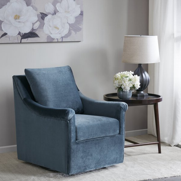 Fashionable Jayde Armchairs Pertaining To Lundell Swivel Armchair (View 11 of 30)