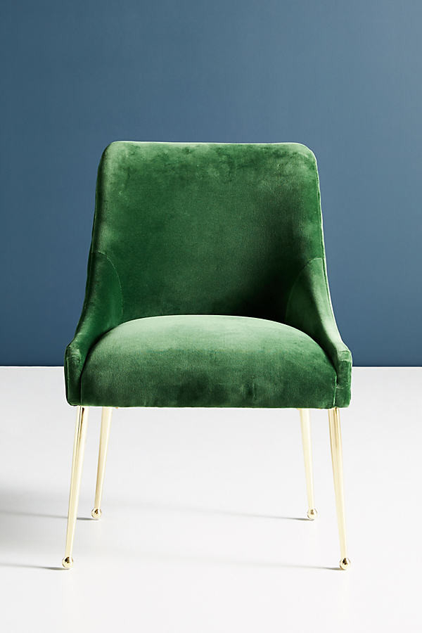 Fashionable Velvet Elowen Chairin Grey With Regard To Daulton Velvet Side Chairs (View 26 of 30)