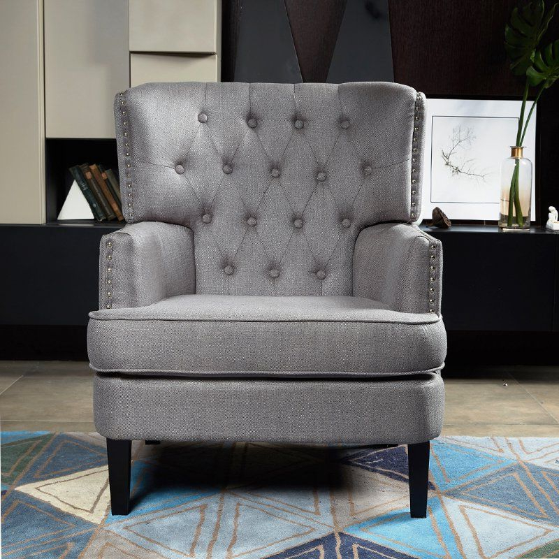 Fashionable Winston Porter Lenaghan Wingback Chair Upholstery – Vozeli Inside Lenaghan Wingback Chairs (View 24 of 30)