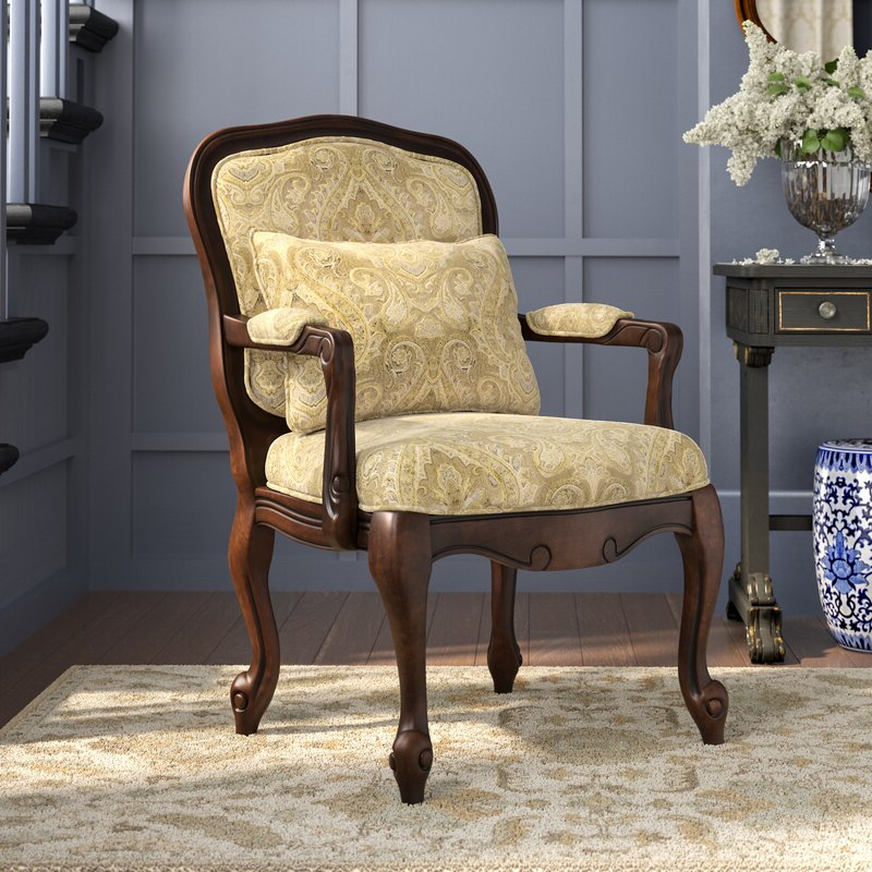 Favorite Albryna Armchair Throughout Hanner Polyester Armchairs (View 19 of 30)