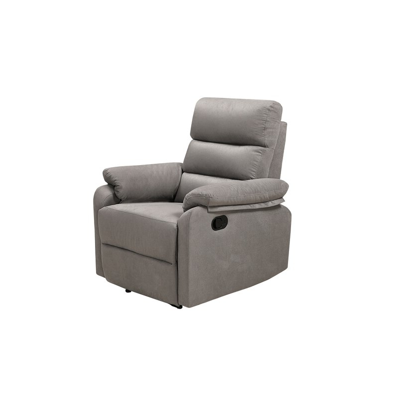 Favorite Artressia Barrel Chairs Regarding Artressia Manual Wall Hugger Recliner (View 10 of 30)