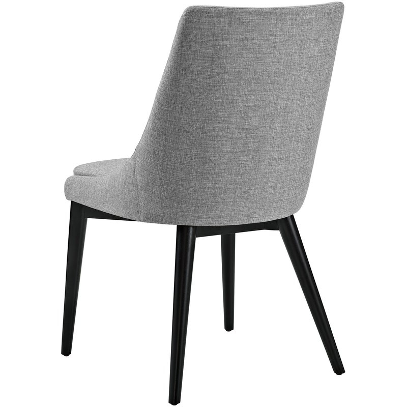 Favorite Carlton Wood Leg Upholstered Dining Chairs Regarding Carlton Wood Leg Upholstered Dining Chair (View 13 of 30)