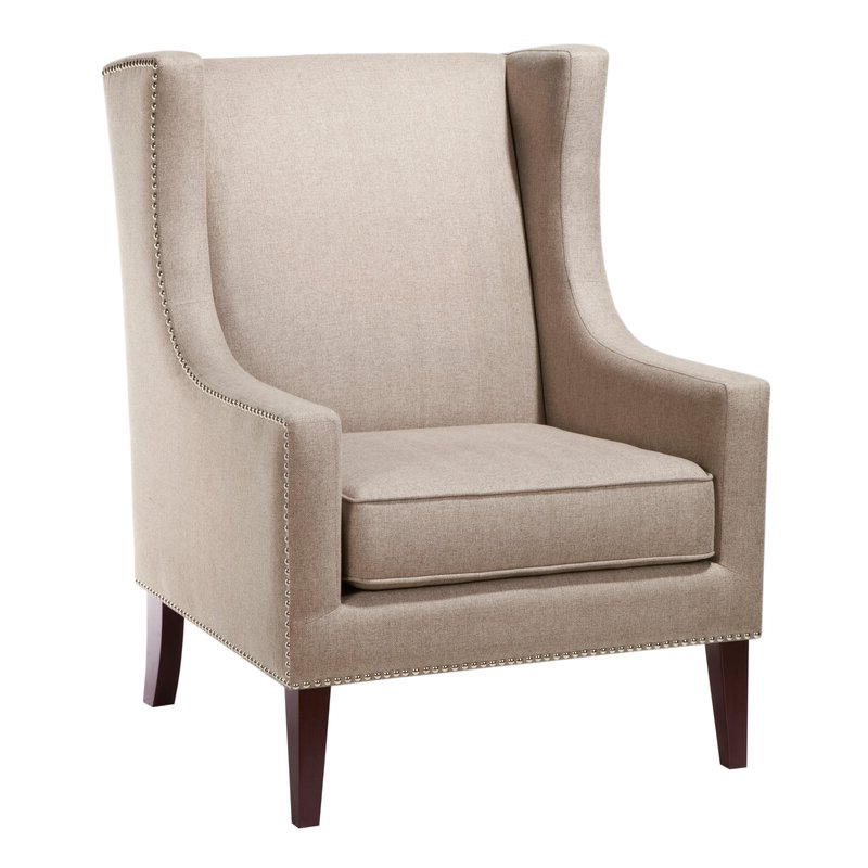 Favorite Chagnon Wingback Chair Intended For Chagnon Wingback Chairs (View 8 of 30)