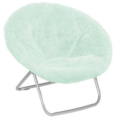 Favorite Ebern Designs Hilaria Papasan Chair Fabric: Mint Polyester With Grinnell Silky Velvet Papasan Chairs (View 10 of 30)