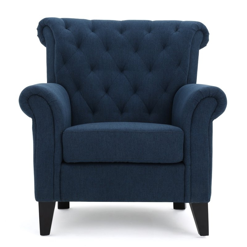 Favorite Jayde Armchairs In Navy Blue Accent Chair You'll Love In 2021 – Visualhunt (View 25 of 30)
