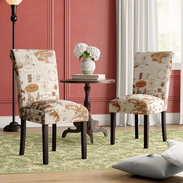 Favorite Jute Accent Chair In Alush Accent Slipper Chairs (set Of 2) (View 11 of 30)