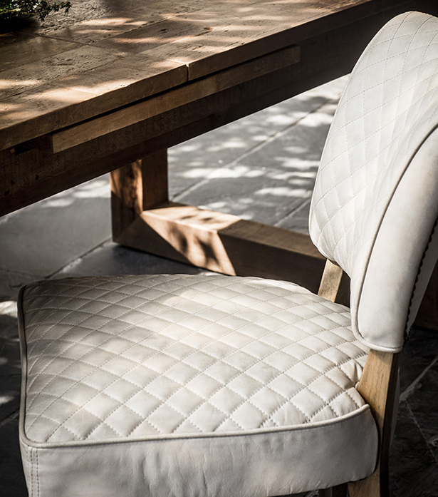 Favorite Mimi Quilt Dining Chair Inside Chiles Linen Side Chairs (View 18 of 30)