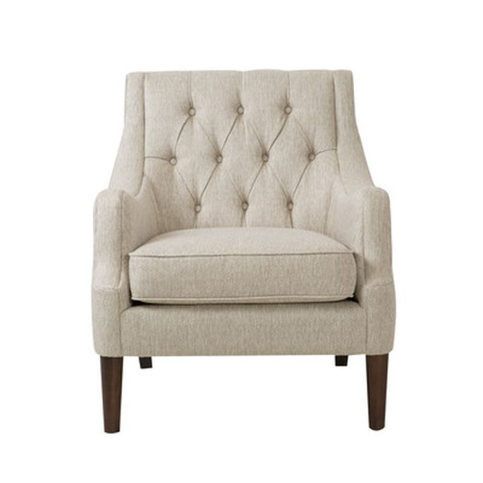 Favorite Rogersville Armchair – Wayfair With Regard To Allis Tufted Polyester Blend Wingback Chairs (View 28 of 30)