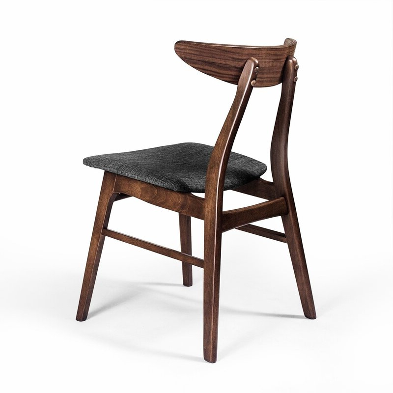 Filton Solid Wood Dining Chair Within Famous Filton Barrel Chairs (View 8 of 30)