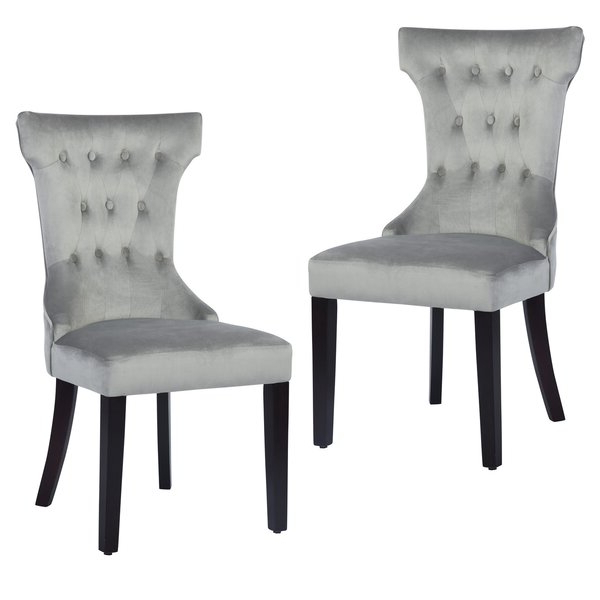 Galesville Tufted Polyester Wingback Chairs With Most Popular Upholstered Wingback Chair (View 16 of 30)