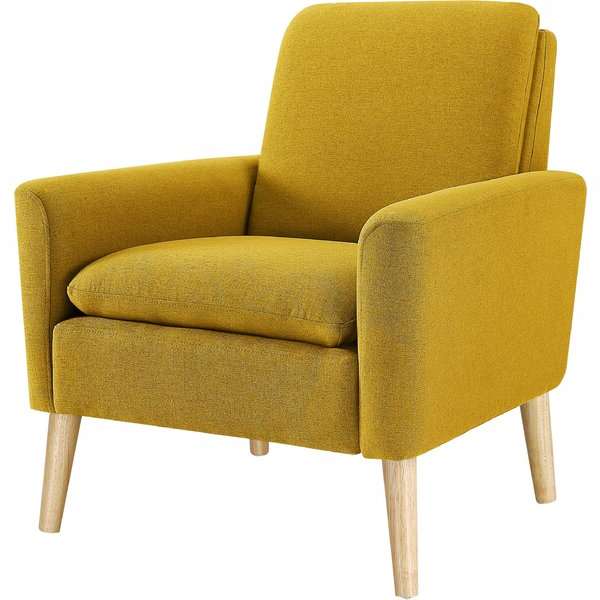 George Armchair Throughout Favorite Biggerstaff Polyester Blend Armchairs (View 4 of 30)