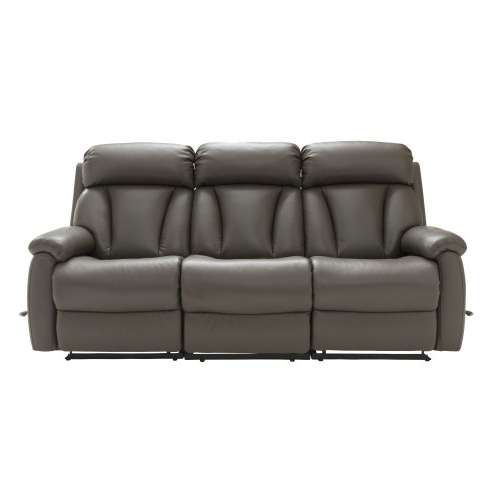 Georgina Armchairs (set Of 2) Throughout Well Known La Z Boy Georgina Three Seater Leather Sofa (View 23 of 30)