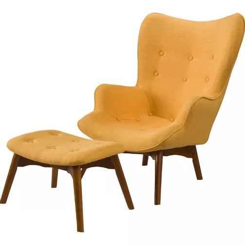 Giguere Barrel Chairs For Most Recent 6 Mustard Yellow Accent Chairs For Stylish Homes – Cute (View 6 of 30)