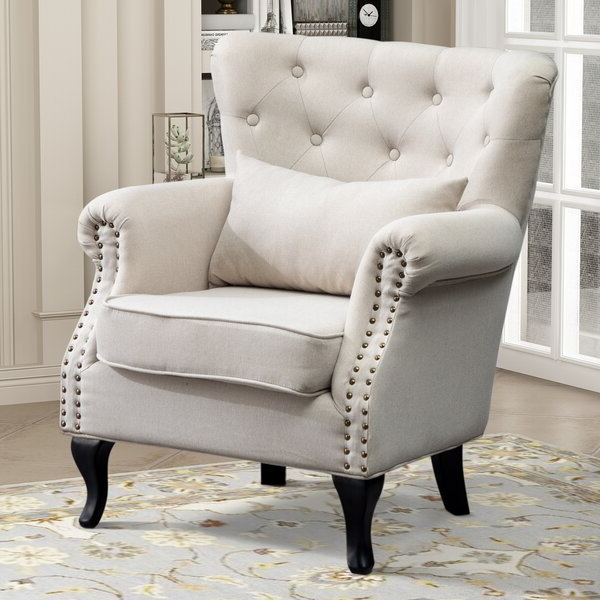 Gilad Faux Leather Barrel Chairs Inside Recent Extra Large Accent Chair (View 29 of 30)
