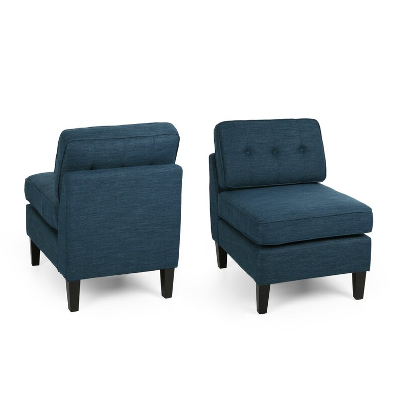 Featured Photo of Goodspeed Slipper Chairs (Set Of 2)