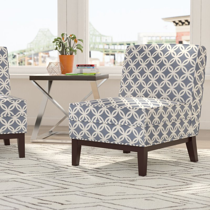 Goodspeed Slipper Chairs (set Of 2) For 2020 Mayberry Slipper Chair (View 9 of 30)
